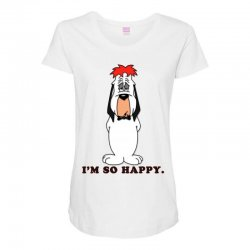 droopy dog Maternity Scoop Neck T-shirt | Artistshot
