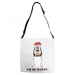 droopy dog Adjustable Strap Totes | Artistshot