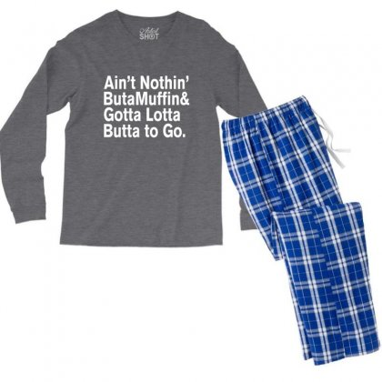 For Prince, It Ain't Nothin' But A Muffin Men's Long Sleeve Pajama Set Designed By Rardesign