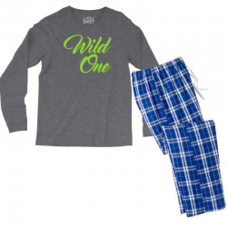 Wild One Men's Long Sleeve Pajama Set | Artistshot