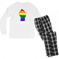 Love Wins 12th 2016 - Orlando Strong Men's Long Sleeve Pajama Set | Artistshot