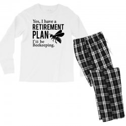 Yes I have a Retirement Plan Men's Long Sleeve Pajama Set | Artistshot