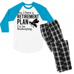 Yes I have a Retirement Plan Men's 3/4 Sleeve Pajama Set | Artistshot