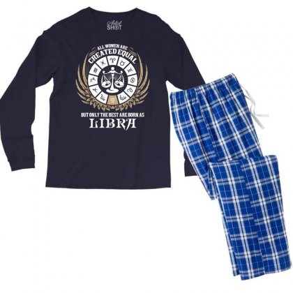 Libra Women Men's Long Sleeve Pajama Set Designed By Tshiart