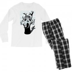 the tree's scream Men's Long Sleeve Pajama Set | Artistshot