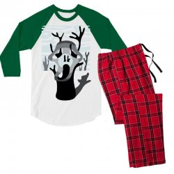 the tree's scream Men's 3/4 Sleeve Pajama Set | Artistshot