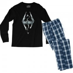 Skyrim Men's Long Sleeve Pajama Set | Artistshot