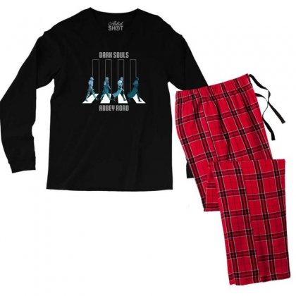 Dark Souls Abbey Road Men's Long Sleeve Pajama Set Designed By Vartdater