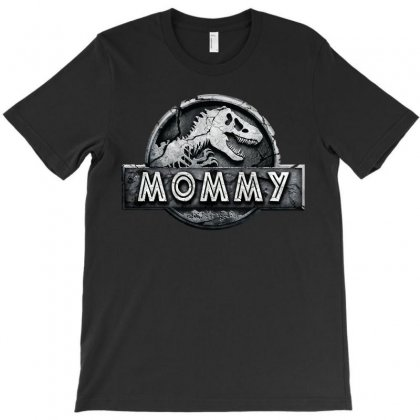 Jurassic Park Family Matching Mommy T-shirt Designed By Akin