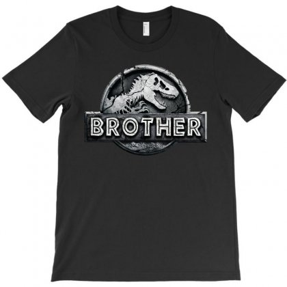 Jurassic Park Family Matching Brother T-shirt Designed By Akin