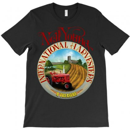 Neil Young Harvesters T-shirt Designed By Shoptee