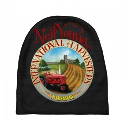 neil young harvesters Baby Beanies | Artistshot