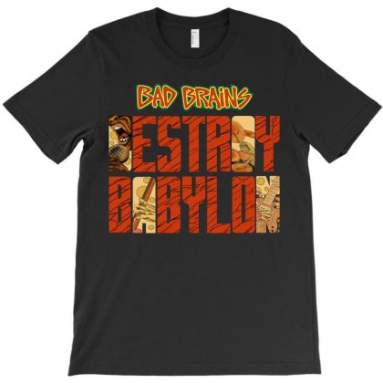 Bad Brains Babylon T-shirt Designed By Shoptee