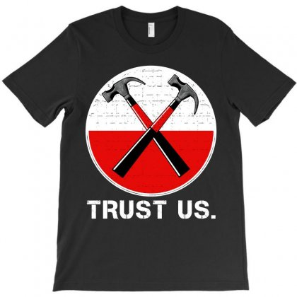 Roger Waters Trust Us T-shirt Designed By Shoptee