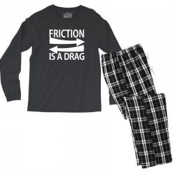 funny geek nerd science Men's Long Sleeve Pajama Set | Artistshot