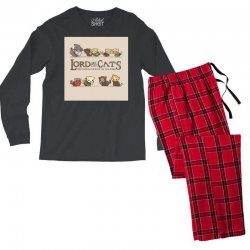 Lord Of The Cats Men's Long Sleeve Pajama Set | Artistshot