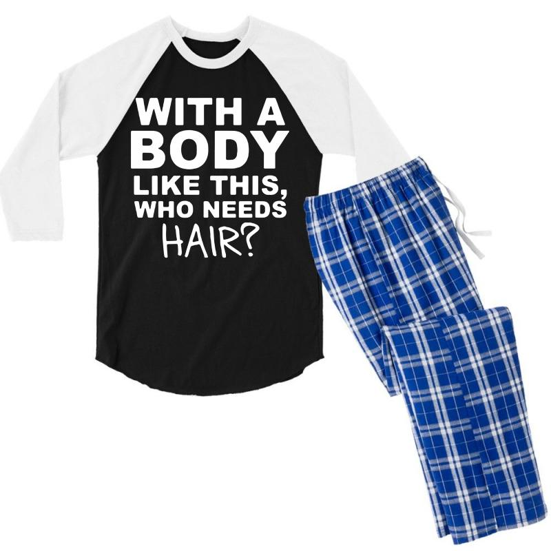 6a154b44 gifts for him father husband gift funny tshirt for him funny t shir Men's 3/4  Sleeve Pajama Set
