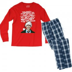 Clark Griswold Christmas Tee Men's Long Sleeve Pajama Set | Artistshot