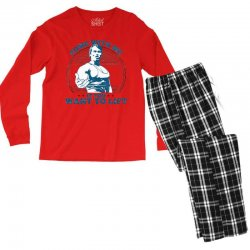 Come With Me If You Want to Lift Men's Long Sleeve Pajama Set | Artistshot