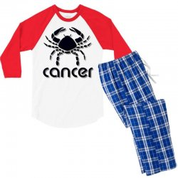 cancer Men's 3/4 Sleeve Pajama Set | Artistshot