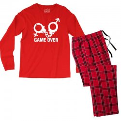 love game Men's Long Sleeve Pajama Set | Artistshot