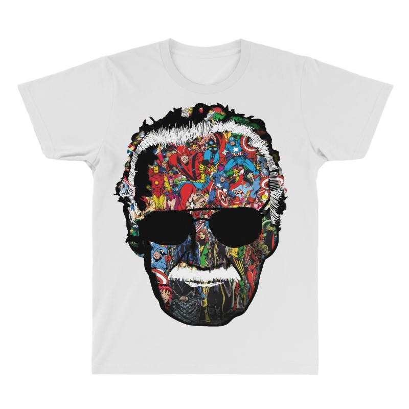 8f0054b5 Custom Stan Lee Man Of Many Faces All Over Men's T-shirt By Wizarts ...