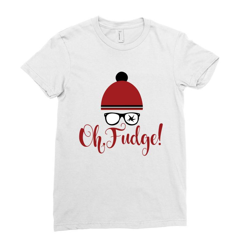 Christmas Story Shirts.Ralphie Oh Fudge Christmas Story Ladies Fitted T Shirt By Artistshot