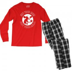 funny cow Men's Long Sleeve Pajama Set | Artistshot