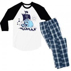 musical ship Men's 3/4 Sleeve Pajama Set | Artistshot