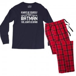 funny batman Men's Long Sleeve Pajama Set | Artistshot