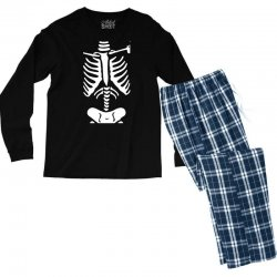 funny bone skeleton Men's Long Sleeve Pajama Set | Artistshot