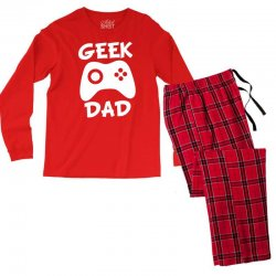 geek dad Men's Long Sleeve Pajama Set | Artistshot