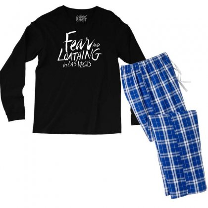 Fear And Loathing In Las Vegas Men's Long Sleeve Pajama Set Designed By Printshirts