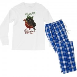 eat fruits Men's Long Sleeve Pajama Set | Artistshot