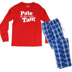 pale is the new tan! Men's Long Sleeve Pajama Set | Artistshot