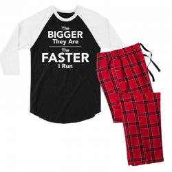 the bigger they are the faster Men's 3/4 Sleeve Pajama Set | Artistshot