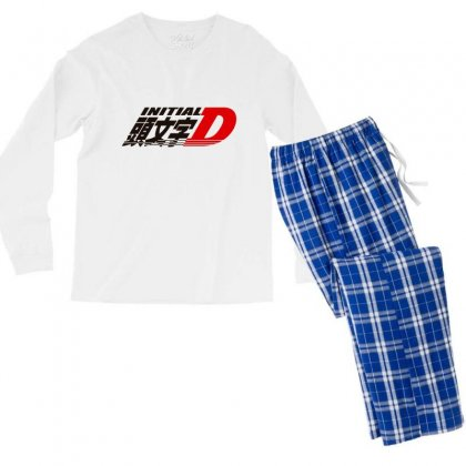Initial D Men's Long Sleeve Pajama Set Designed By Xenoverse