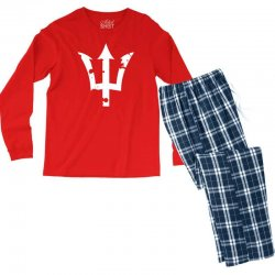 dreizack poseidon Men's Long Sleeve Pajama Set | Artistshot