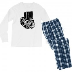 hasselblad vintage camera Men's Long Sleeve Pajama Set | Artistshot