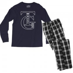 trust god t shirt Men's Long Sleeve Pajama Set | Artistshot
