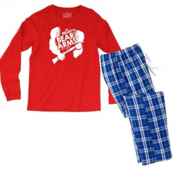 the right to bear arms Men's Long Sleeve Pajama Set | Artistshot