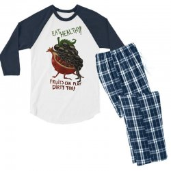 eat fruits Men's 3/4 Sleeve Pajama Set | Artistshot