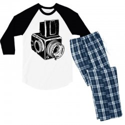 hasselblad vintage camera Men's 3/4 Sleeve Pajama Set | Artistshot