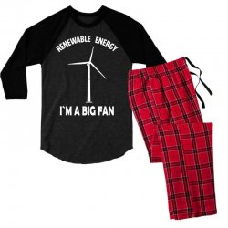 renewable energy Men's 3/4 Sleeve Pajama Set | Artistshot
