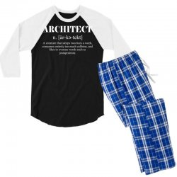 Custom Architect Definition Funny Men s Long Sleeve Pajama Set By ... 5cb35acef