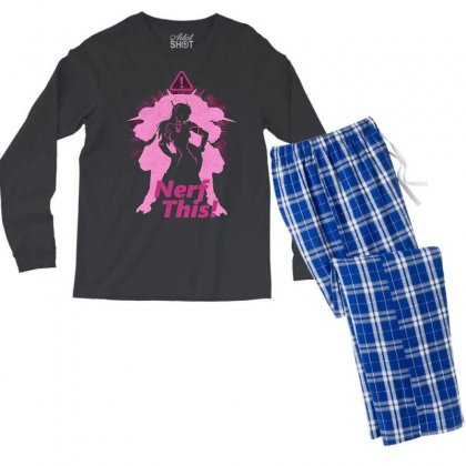 Nerf This Awesome Men's Long Sleeve Pajama Set Designed By Vr46