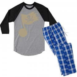 music pirate Men's 3/4 Sleeve Pajama Set | Artistshot