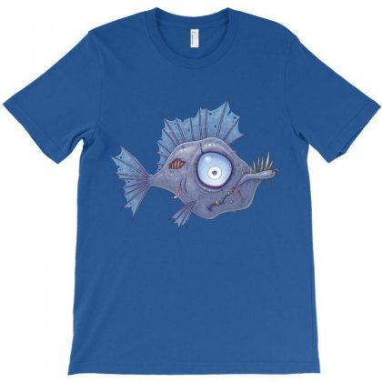 Zombie Fish T-shirt Designed By Fizzgig