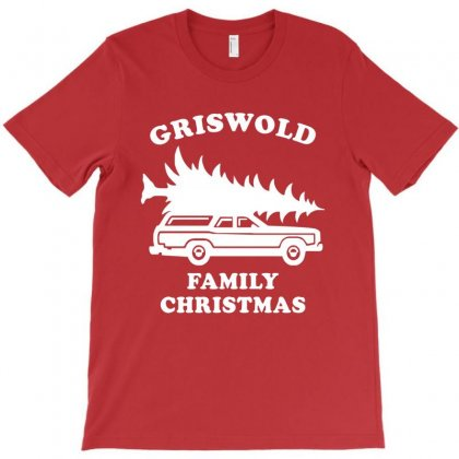 Grisworld Family Christmas T-shirt Designed By Akin