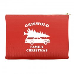 grisworld family christmas Accessory Pouches | Artistshot